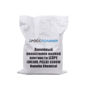 Линейный полиэтилен низкой плотности LLDPE (ЛПЭНП, PELLD) 3306W Hanwha Chemical