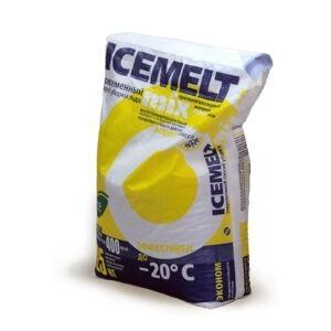 """Противогололедный реагент """"Айсмелт mix"""" (ICEMELT mix), эффективен до -20°"""