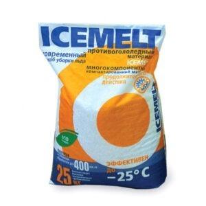 """Противогололедный реагент """"Айсмелт"""" (ICEMELT), эффективен до -25°"""