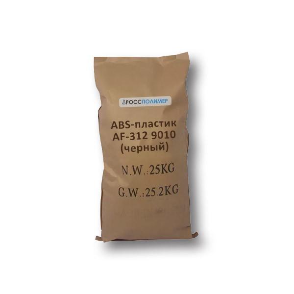 abs-пластик af-312 9010 черный