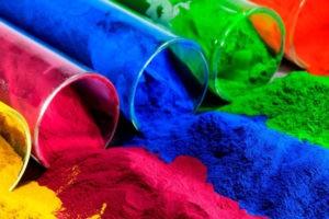 Разноцветные порошки
