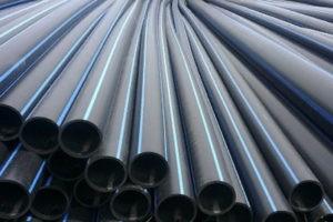Черные пластиковые трубы ПНД