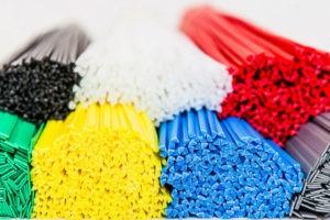 Цветные прутки для сварки пластиковых деталей